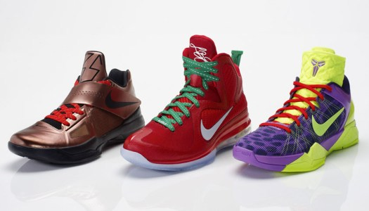 best loved 6dad7 c1c84 The Nike Basketball Christmas Pack 2010-2015. An Overview. – Empty ...