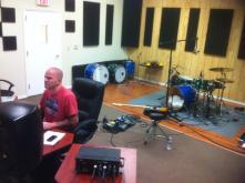 Studio session by Jim Meyer