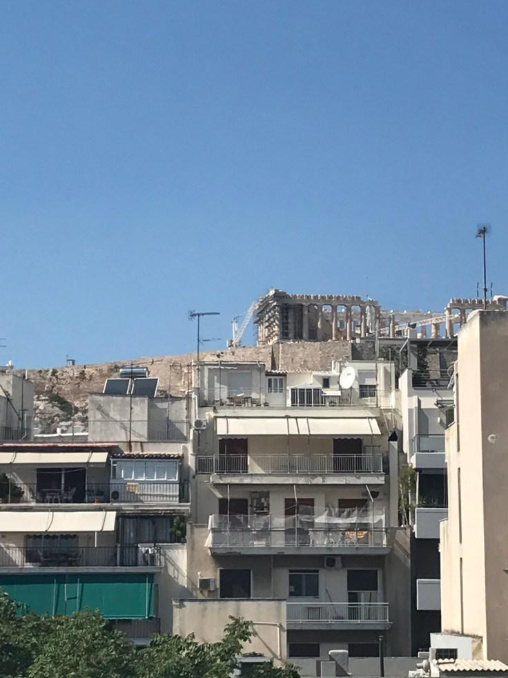Acropolis, Athens, Greece, birthday trip, ruins, history