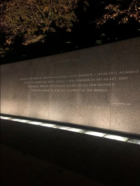 Dr. Martin Luther King Jr Memorial quotes