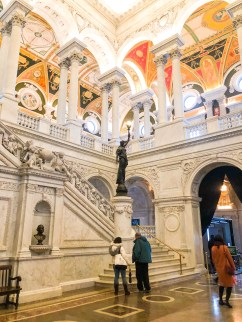 Library of Congress, snowy day, rainy day, washington D.C., fun in D.C.