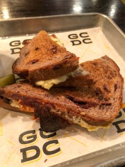 Where to eat lunch in D.C., Washington D.C., Grilled Cheese, rainy day, snowy day, travel, comfort food