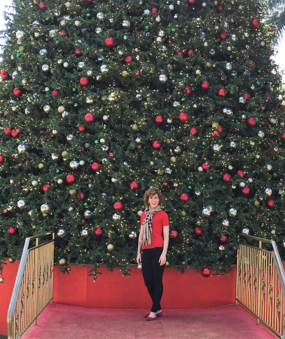holidays in miami, christmas in miami, empty nester holiday getaway, merrick park christmas tree