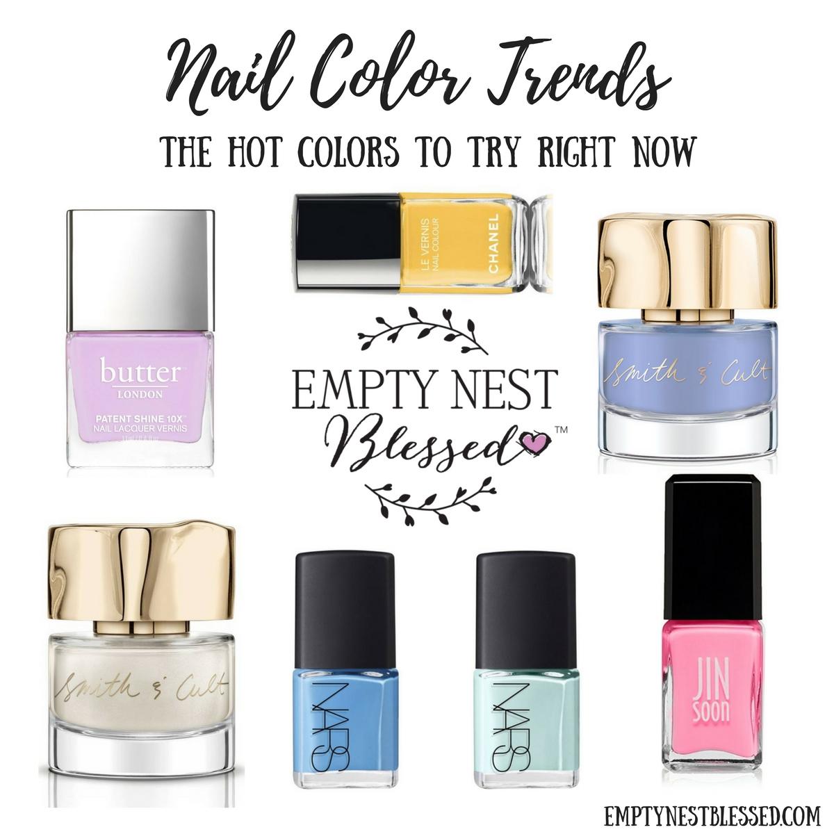 Nailed it! Five Hot Nail Color Trends to Try Right Now