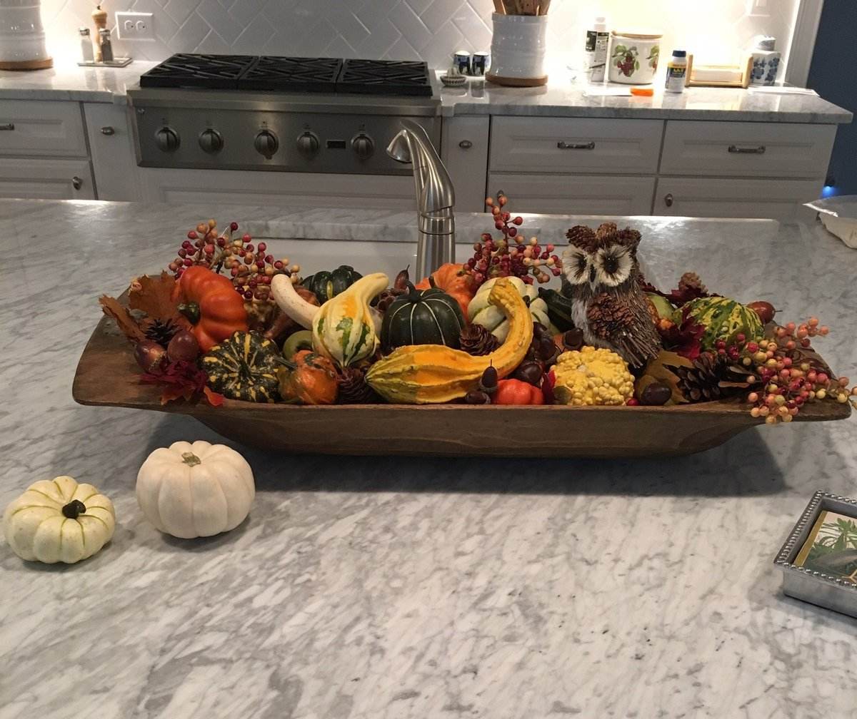 fall decor, pumpkin bread recipe, pumpkin muffin recipe, pumpkin loaf recipe, blue fall decor, fall decor ideas, dough bowl, dough bowl seasonal décor, dough bowl seasonal décor ideas