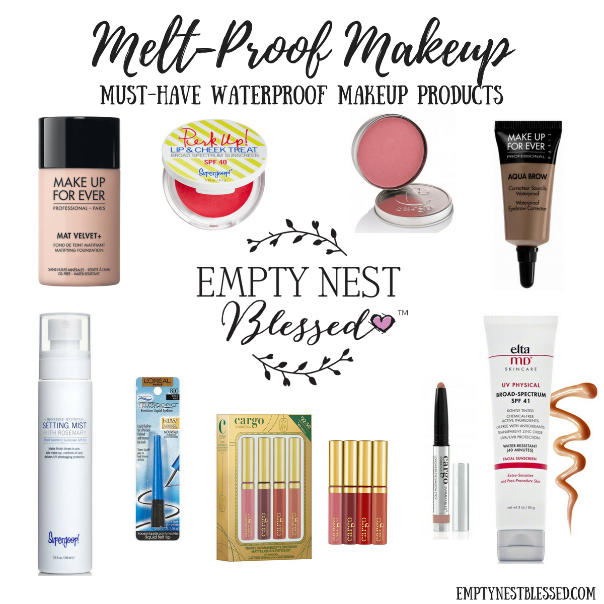 a46b2a455bc waterproof makeup, melt-proof makeup, sweat-proof makeup, waterproof  mascara,