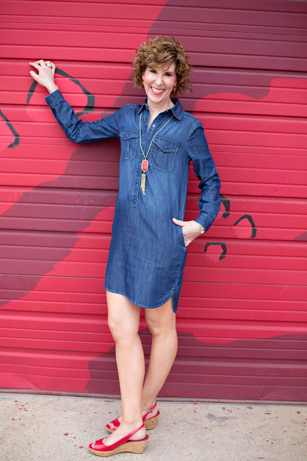 style a shirtdress, how to style a shirtdress, ways to style a shirtdress, style a shirt dress, how to style a shirt dress, ways to style a shirt dress, shirt dress, shirtdress, shirtdress looks, shirt dress looks, shirtdress styles, shirtdress looks, shirt dress looks, shirtdress style inspo, shirt dress style inspo, shirtdresses, how to wear shirt dresses shirt dresses, how to wear shirtdresses, j crew factory shirtdress, jcrew factory shirtdress, olive green shirtdress, green shirtdress, olive green dress, olive green shirt dress, sannibel wedges, gold tassel necklace, simple gold tassel necklace, straw circle bag, circle bag, rattan circle bag, inexpensive rattan circle bag, tory burch logo earrings, gold tory burch logo earrings