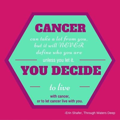 CANCER. YOU DECIDE