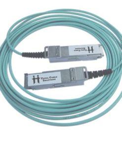 Active QSFP+ Fiber Cables