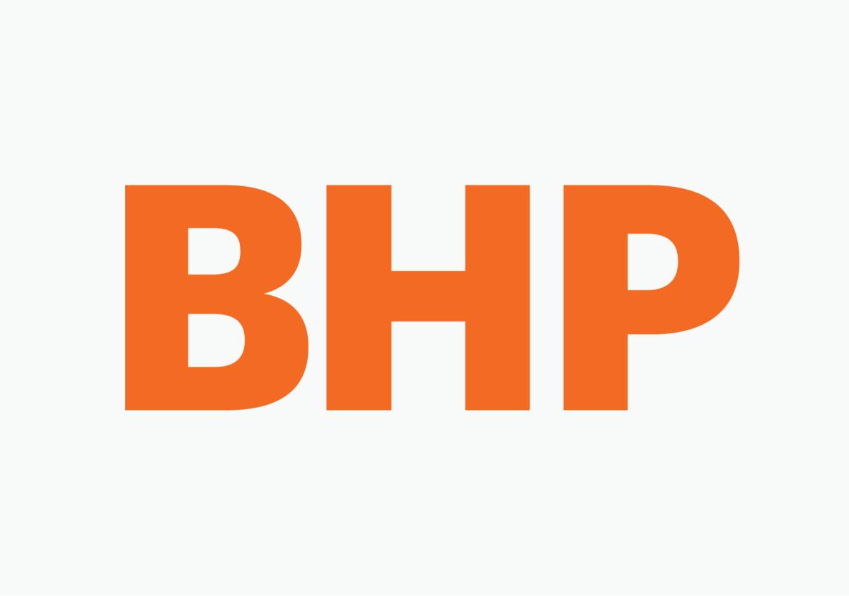 New logo for BHP by Big Red – Emre Aral – Information Designer
