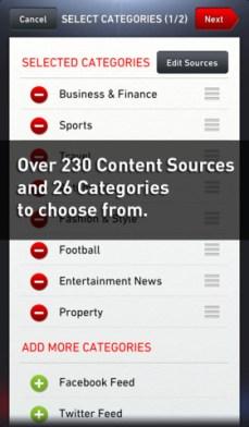 NewsLoop iPhone 3