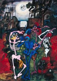'Dancing Skeletons', 1934, by Edward Burra