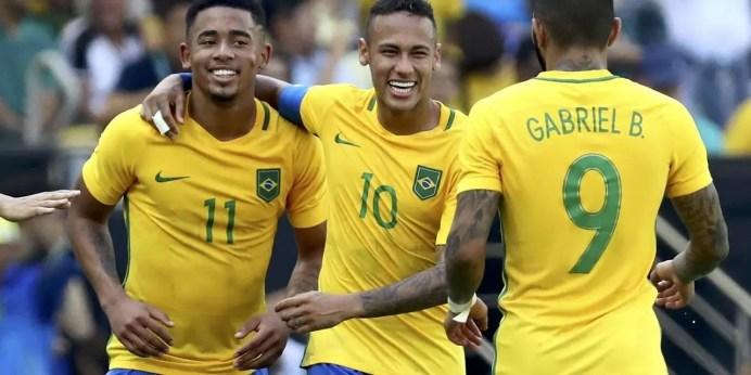 Ouro a vista. Brasil goleia Honduras e garante vaga na final do futebol masculino