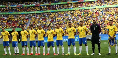 Brasília - Futebol masculino da seleção brasileira, deu o seu pontapé inicial na Olimpíada Rio 2016, em uma partida contra a África do Sul, no Estádio Mané Garrincha (Marcelo Camargo/Agência Brasil)
