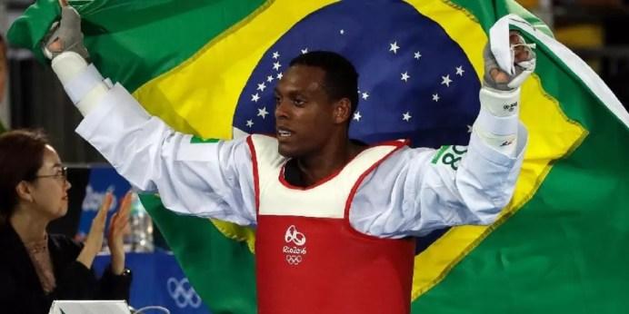 Maicon Siqueira bate britânico e é bronze no taekwondo