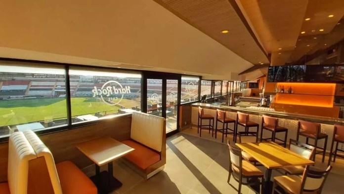 Hard Rock Café Ribeirão Preto terá vista para o campo da Arena Eurobike