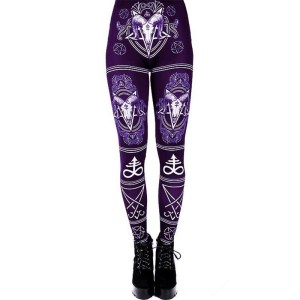 Lucifer Sigil Leggings