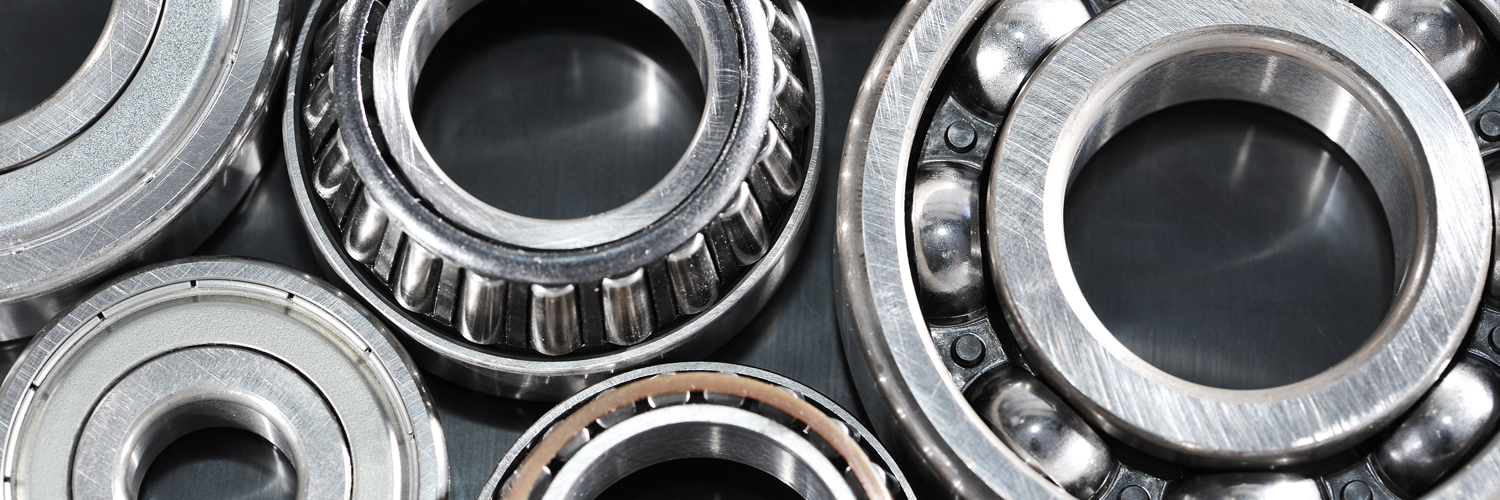 Image of Various bearings represent the multitude of bearings and power supplies that we sell.