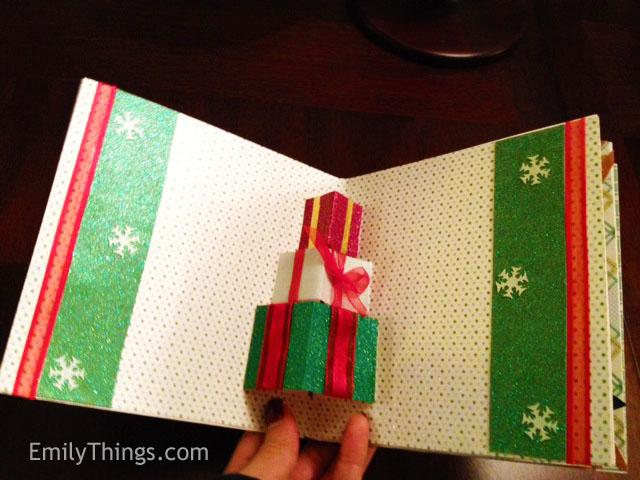 Pop Up Christmas Card Emilys Enchantments