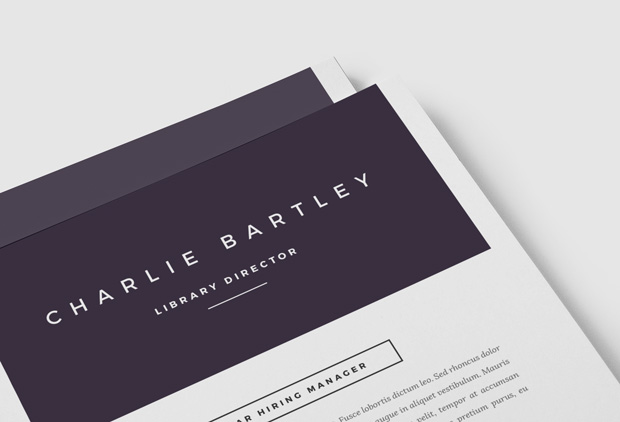 Chic Cover Letter Template   References