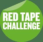 Red Tape Challenge sticker