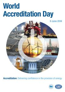 Accreditation: Delivering confidence in the provision of energy