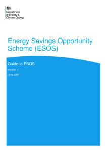 DECC Guide to ESOS