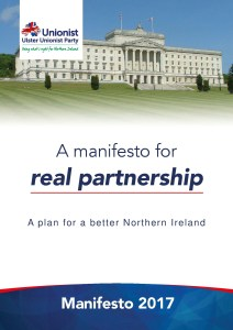 Ulster Unionist Party Manifesto 2017