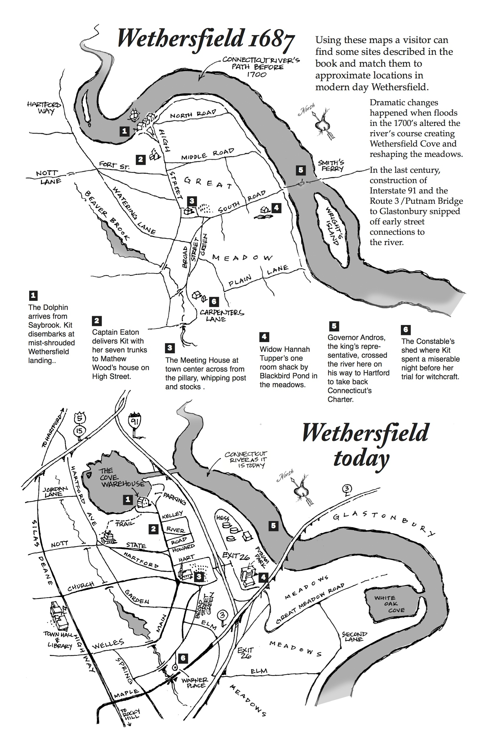 Road Trip Day 10 Wethersfield And The Witch Of Blackbird