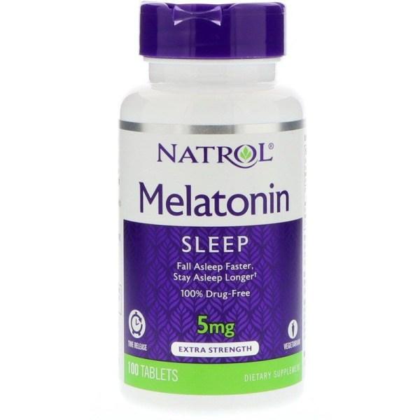 Melatonina 5mg Time Release