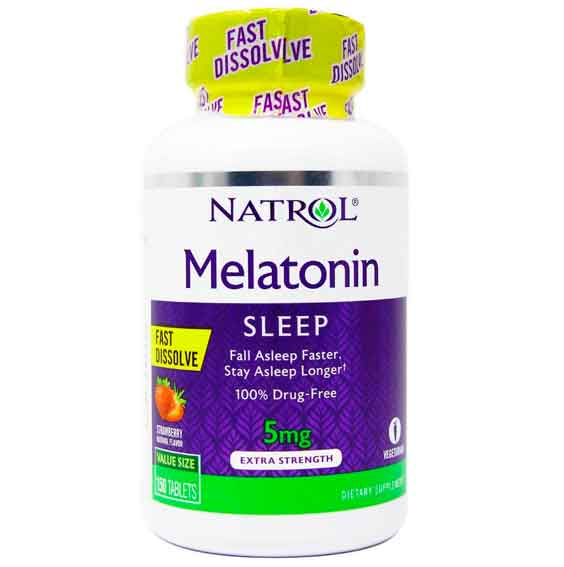 Melatonina 5mg Natrol Fast