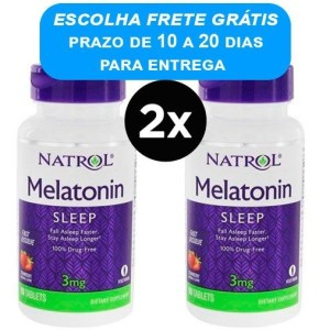 Melatonina 3mg Natrol Dissolvivel