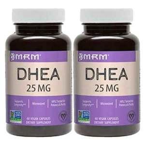 2x DHEA 25mg - MRM - 60 Capsulas