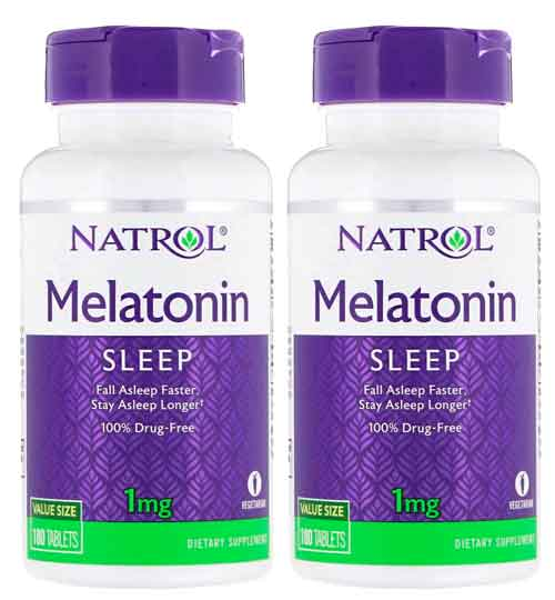 Melatonina 1mg Natrol - 180 comprimidos