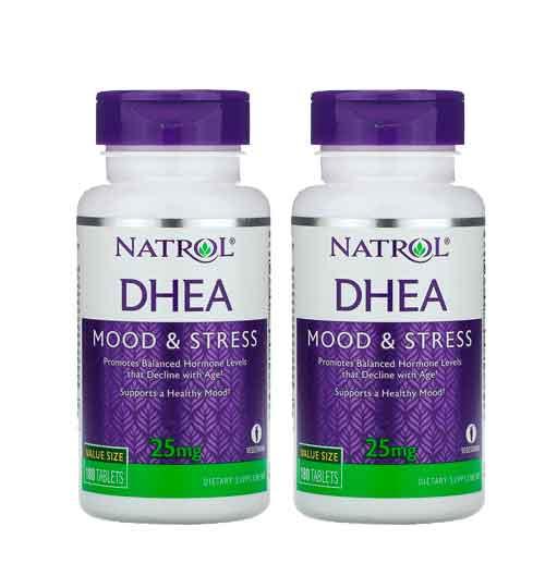 Dhea 25 mg Natrol 180 comprimidos