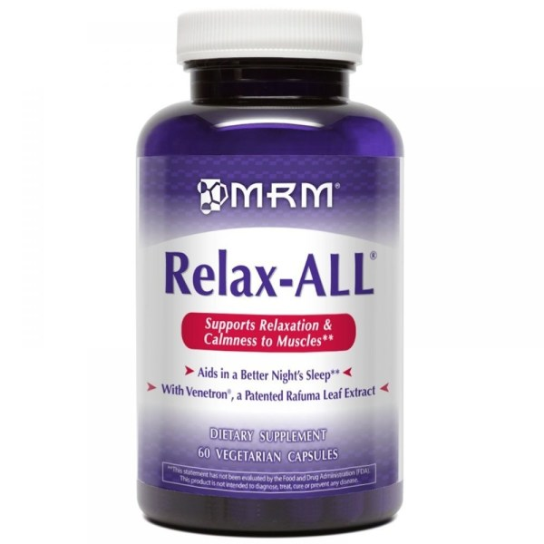 MRM, Relax-All, 60 cápsulas