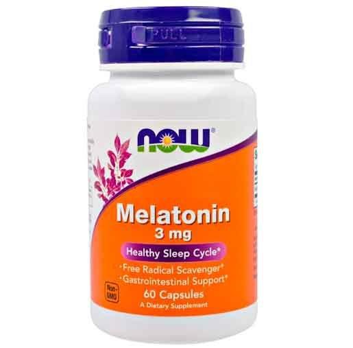Melatonina 3 mg Now Foods