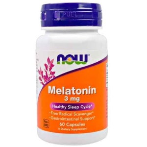 Melatonina 3 mg Now Foods