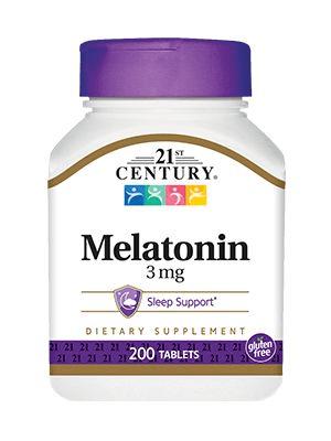 A Melatonina 3 mg 21st century é uma substância fabricada naturalmente pelo corpo. Esse hormônio é responsável pela indução ao sono
