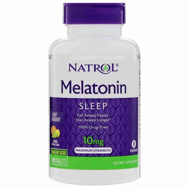 Melatonina 10mg Natrol