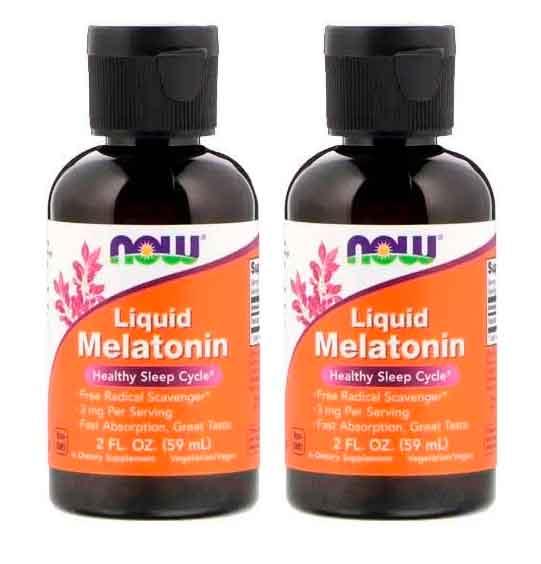 Melatonina Liquida 3mg 60ml Now Foods – Leve 1 Frasco