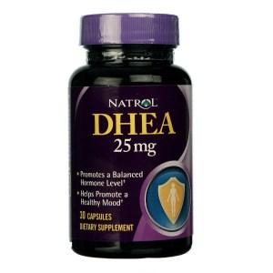 DHEA 25mg NATROL – 30 comprimidos