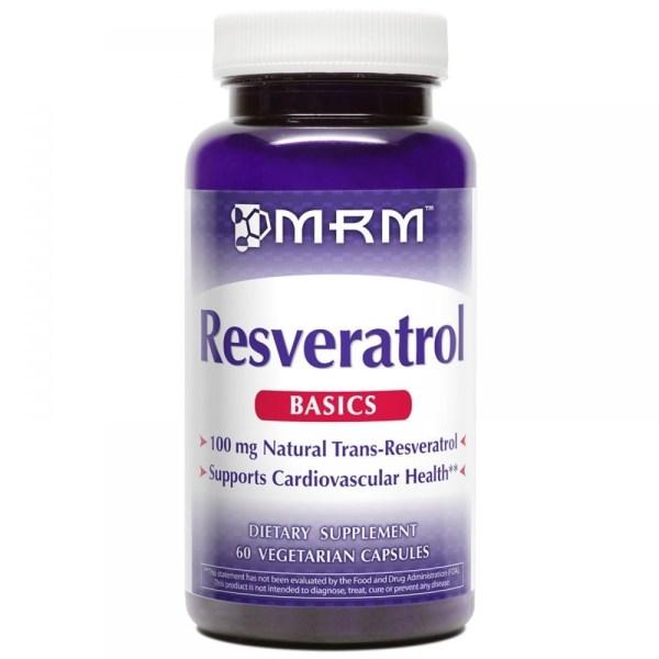 Resveratrol  100MG, MRM – 60 cápsulas