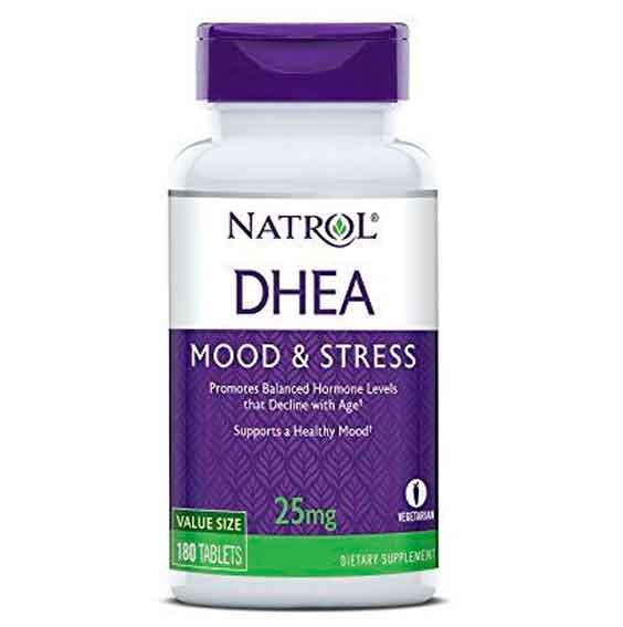 DHEA 25mg NATROL 180 comprimidos
