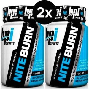 2X NITE BURN - BPI Sports (30 cápsulas)