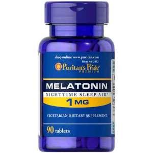 Melatonina 1mg Puritans Pride, 90 Comprimidos