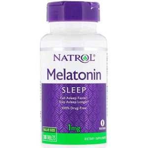 Melatonina 1mg Natrol 180 comprimidos