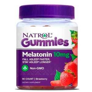 Melatonina 10mg em Gomas com 90 Gomas – Leve 2 Frascos