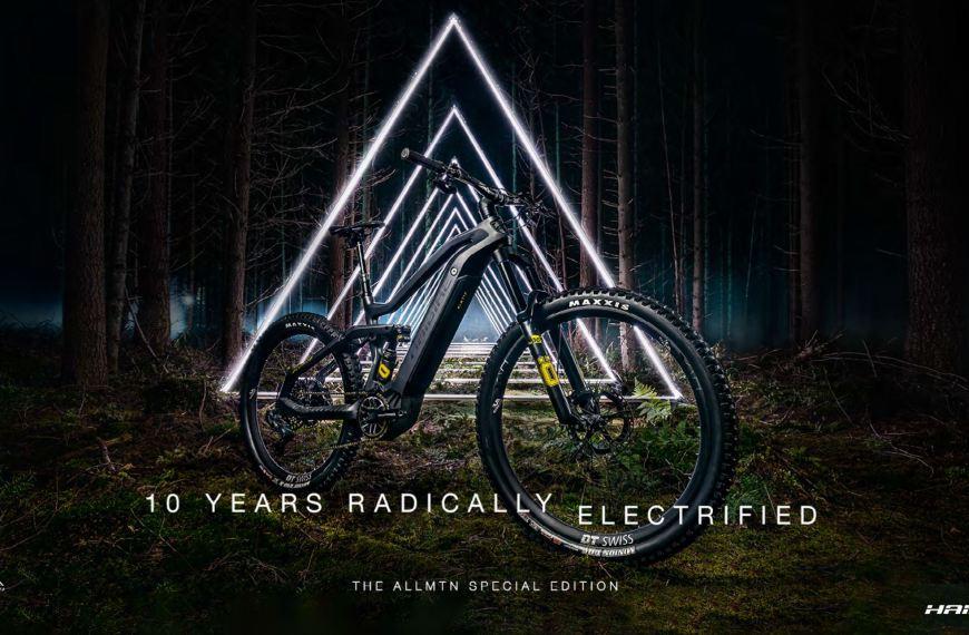 Haibike – 10 år med elektriske terrengsykler