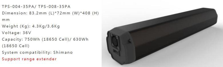 Simplo 750 Wh batteri
